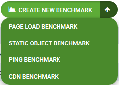 New Benchmark Drop Down
