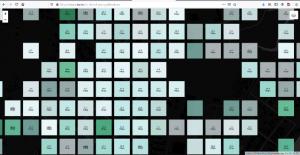 Close up of Fiji SpeedChecker data, point grid @ 10 sq.m.
